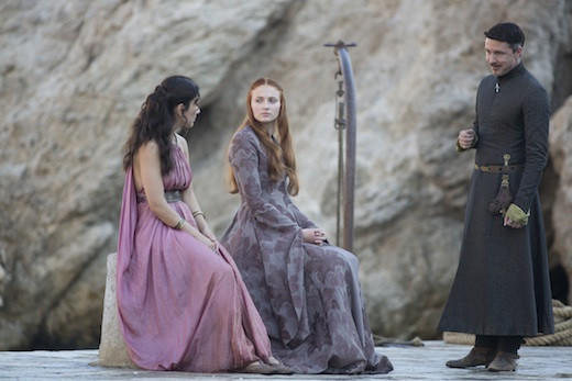 'Game of Thrones' Season 3: Shae, Sansa and Littlefinger