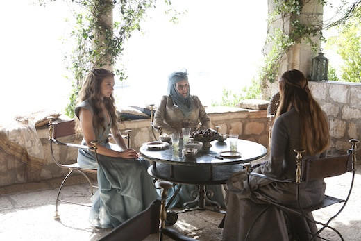 'Game of Thrones' Season 3: Margaery Tyrell, Lady Olenna and Sansa Stark