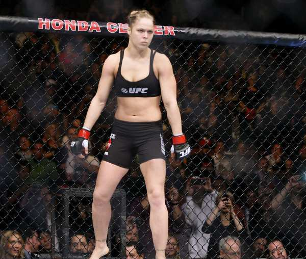 ARCHIVE PHOTO: Ronda Rousey will put her Ultimate Fighting Championship womens bantamweight title on the line against Cat Zingano sometime at the end of the year.""