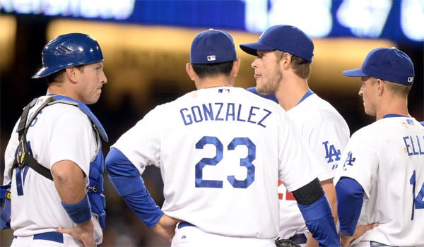 Clayton Kershaw gave up seven hits and allowed five runs in 5 1/3 innings in the Dodgers' loss to the San Diego Padres, 7-2.