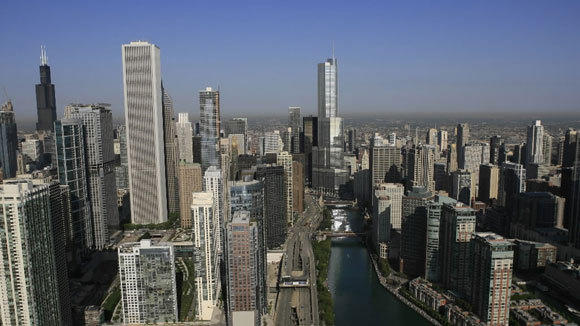 A view of Downtown Chicago in a 2009 file photo.