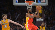 Houston Rockets at Los Angeles Lakers