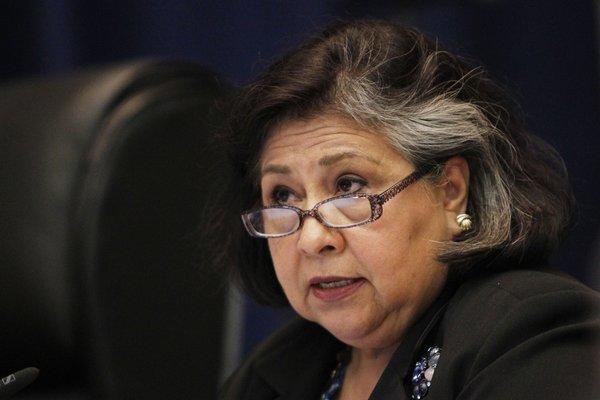 Los Angeles County Supervisor Gloria Molina.