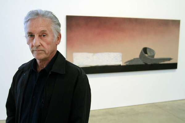 Artist Ed Ruscha in Beverly Hills in 2011.