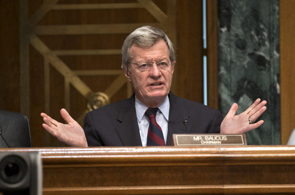 Sen. Max Baucus, (D-Mont.) is one of several Democratic lawmakers who will be targeted by Organizing for Action for their opposition to gun control legislation.