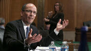 Thomas E. Perez, the former Maryland labor secretary nominated to lead the U.S. Department of Labor, faced pointed questions at his Senate confirmation hearing Thursday about whether politics influenced his decisions as the top civil rights attorney in the U.S. Justice Department.