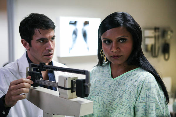 "Chris Messina and Mindy Kaling in Fox's ""The Mindy Project."""