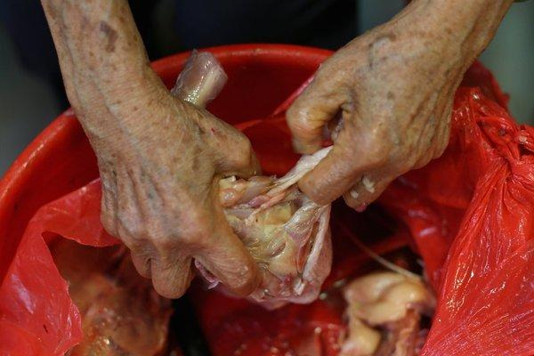 Cook it, clean up well after it: Uncooked poultry is a common source of Campylobacter, a food-borne pathogen on the rise in the government's latest survey of food-borne illnesses.