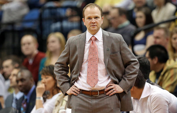 Detroit Pistons coach Lawrence Frank is out after three seasons.