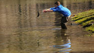 Stocking Keney Pond with Trout