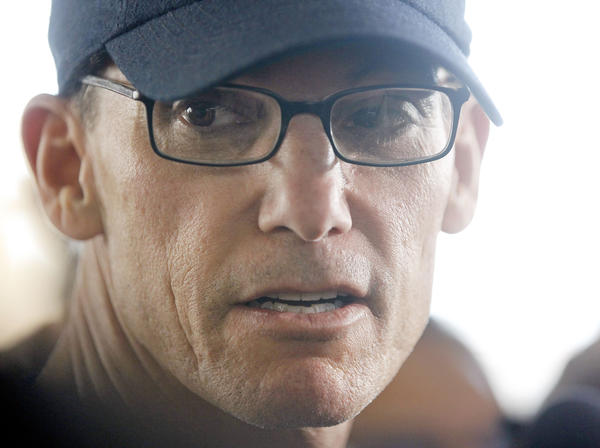 Head coach Marc Trestman speaks Tuesday at Chicago Bears minicamp.
