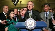 Sen. Harry Reid (D-Nev.) concedes defeat on gun control.
