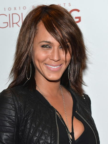 "Actress Nicole Ari Parker attends a special screening of 10x10's ""Girl Rising."""