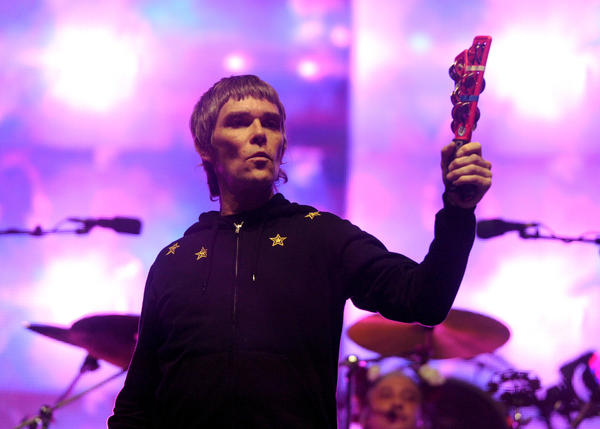 Singer Ian Brown and the Stone Roses will have a different starting time for Weekend 2 of Coachella.