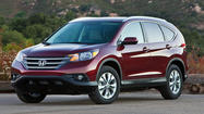 Honda Motor Co. will recall 204,500 CR-V crossovers, Odyssey minivans and Acura RDX crossovers to replace a safety component.