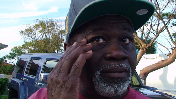 Robert Denmark, 65, was stung on the right side of his face by a swarm of what was thought to be killer bees, in West Park.