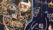 Fans can have one last look at works by Jean-Michel Basquiat before they go on sale.