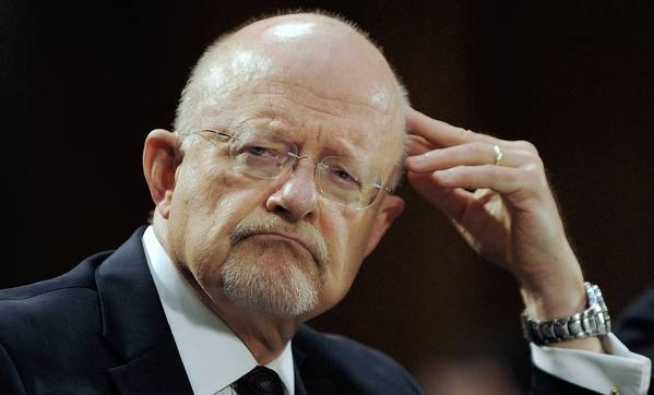 "James R. Clapper, director of national intelligence, testifies before the Senate Armed Services Committee. The Syrian regime ""appears quite willing to use chemical weapons against its own people,"" he said."