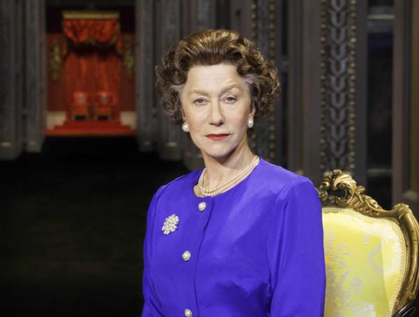 "Helen Mirren reprises her as Queen Elizabeth II in ""The Audience,"" which is to be broadcast from London's Gielgud Theatre as part of National Theatre Live."