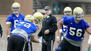 The numbers game is tilting against UCLA during spring football practice.