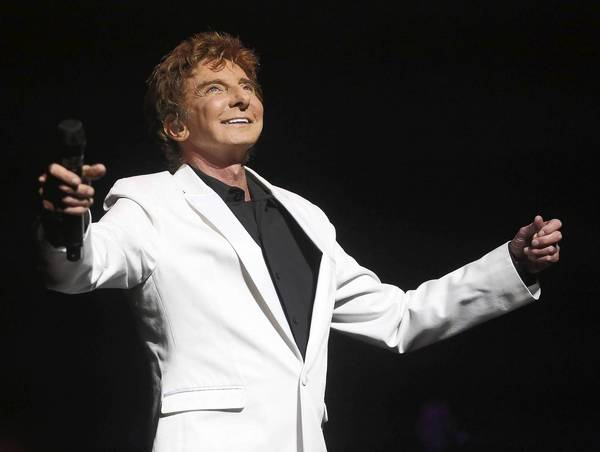 Pop star Barry Manilow performs Saturday at 1st Mariner Arena.