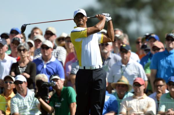 Tiger Woods at the Masters.