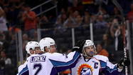 The Orlando Solar Bears will provide jerseys and socks for teams in the inaugural season of the Central Florida High School Hockey League. The seven-team league will include more than 100 student-athletes from several counties, including Orange, Seminole, Volusia, Osceola and Lake. The majority of games will be at the Solar Bears' practice facility at RDV Sportsplex, and teams will compete for the Solar Bears Championship Cup. The title game is set for June 22.