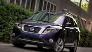Nissan is recalling more than 19,000 of its Pathfinder and Infiniti JX sport utility vehicles because a faulty brake part could fail, making it difficult to stop and increasing the likelihood of a crash.