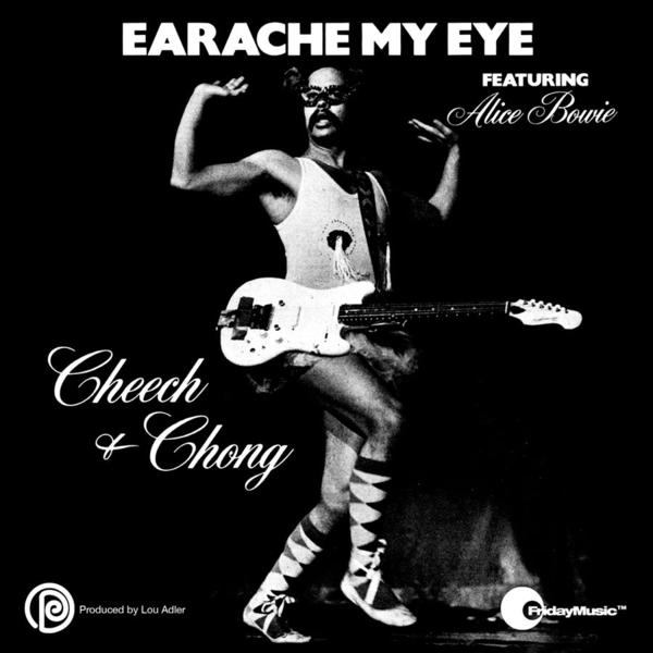 "The cover of Cheech & Chong's ""Earache My Eye"" single, which will be reissued for Record Store Day."