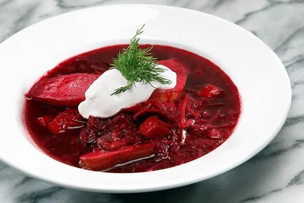 A Bubby-licious borscht.