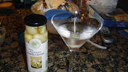 Garlic martini