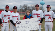 When the Grant baseball team decided to dedicate their season last year in honor Assistant Coach Griffis, who passed away from complication of type 1 diabetes in the fall of 2011, it began an unusual relationship between a Bulldog and a Moose.