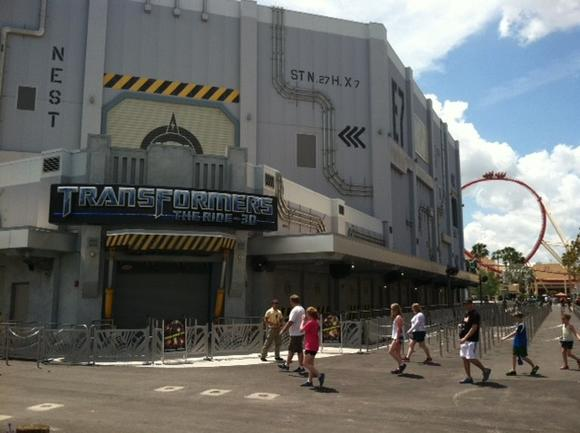 Picture: Transformers: The Ride - 3D at Universal Studios