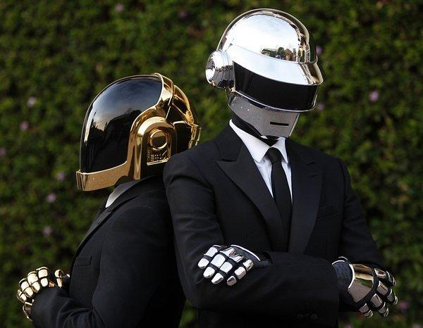 The electronic pop duo Daft Punk.