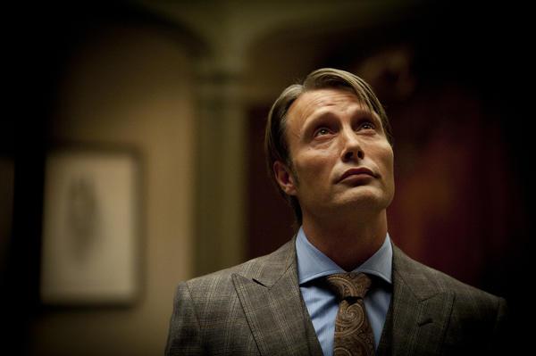 "Mads Mikkelsen as Dr. Hannibal Lecter in NBC's ""Hannibal"""