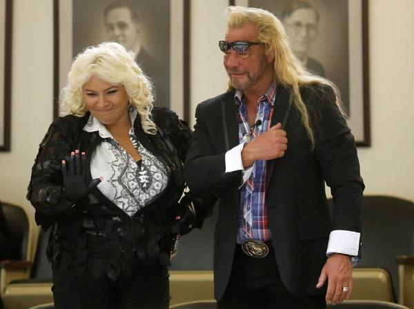 "Beth and Duane ""Dog"" Chapman will return to reality TV, but this time on CMT, on ""Dog and Beth: On the Hunt."""