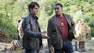 'Grimm' stars David Giuntoli, left, and Russell Hornsby.