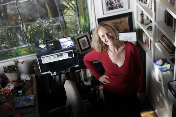 Author Cornelia Funke writes adventure books for older children and teens. She also worked on an iPad app that was released April 17.