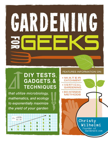Organic garden instructor Christy Wilhelmi has condensed her classes into a new book from Adams Media.