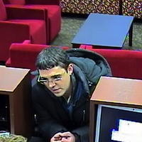 Police are searching for a man who robbed a Palos Hills bank Friday.
