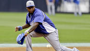 BALTIMORE -- Encouraged by a power-hitting display he put on during an early batting practice session Friday, sidelined shortstop Hanley Ramirez said he hoped he could be in the Dodgers' lineup on his April 30 bobblehead night.