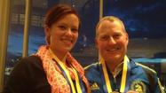 "Two Boston Marathon runners, one from Alaska and the other from New England, who <a href=""http://www.ktuu.com/news/alaskans-gift-at-boston-marathon-goes-viral-on-facebook-041713,0,3351528.story"">were brought together during the turmoil in Boston on Monday</a> had a happy reunion Thursday night."