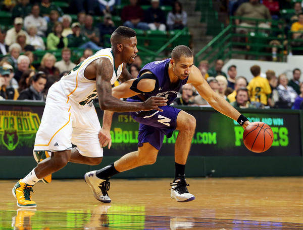Northwestern Wildcats forward Drew Crawford in action against Baylor in 2012.