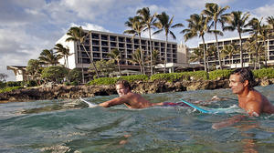 Kick back at Oahu's Turtle Bay Resort