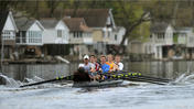 Lehigh University rowing 25th anniversary races.