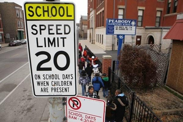 Gov. Pat Quinn approved a plan that would allow Chicago to have speed cameras in proximity to schools and parks, a network that could cover nearly half the city.