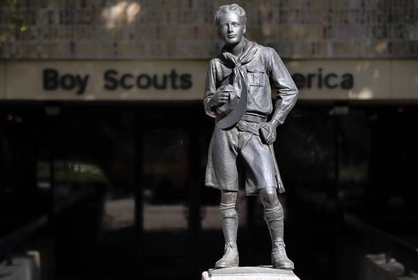 Boy Scouts of America headquarters in Irving, Texas. The executive committee is recommending that a ban be lifted on allowing gay boys to join, but not on allowing gay adults as leaders.
