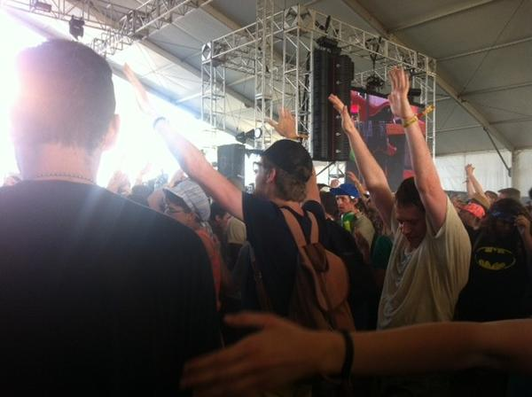 Japandroids rocked the crowd at Coachella.