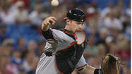 When Orioles catcher Matt Wieters threw out Tampa Bay's speedy center fielder Desmond Jennings trying to steal second base in the ninth inning Thursday night, it wasn't just an important play in a game the Orioles eventually won in 10 innings.