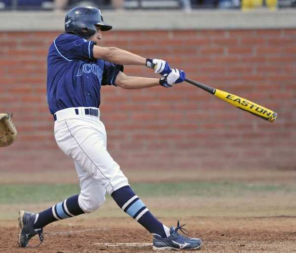 Crescenta Valley's Adrian Damla had a single, one of four Falcons hits, in a 3-2 Pacific League loss to Arcadia.